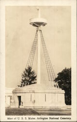 Mast of USS Maine, Arlington National Cemetery