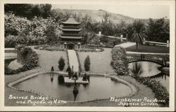 Berheimer Residene, Japanese Garden - Sacred Bridge and Pagoda of Nara