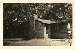 Cottages of Native Stone and Cypress - Garner State Park
