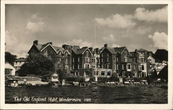 The Old England Hotel Postcard