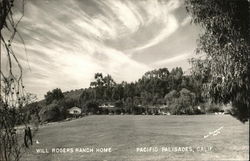 Will Rogers Ranch Home