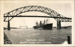 Victory Ship - Bourne Bridge - Cape Cod Canal