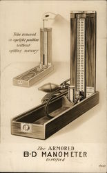The Armored B-D Manometer, Weed Stark Instrument Co.