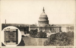 U. S. Capitol Building - East Front - Pompeian Olive Oil
