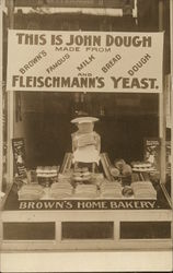 Fleischmann's Yeast - Brown's Home Bakery - John Dough