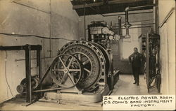Electric Power Room, C.G. Conn's Band Instrument Factory