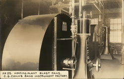 C. G. Conn's Band Instrument Factory - Heating Plant Blast Fans