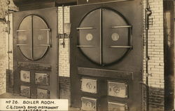 Boiler Room, C.G. Conn's Band Instrument Factory