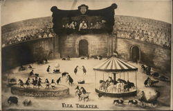 Flea Theater Circus Painting