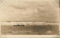 The Chalk Cliffs of Dover Postcard