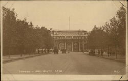 Admiralty Arch Postcard