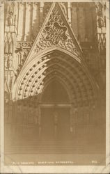 Main Doorway, Barcelona Cathedral