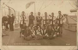 U. S. S. Pittsburgh Soccer Team