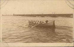 Row Boat Race Winners, From USS Pittsburgh