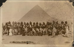 Sailors From USS Pittsburgh At the Great Pyramid