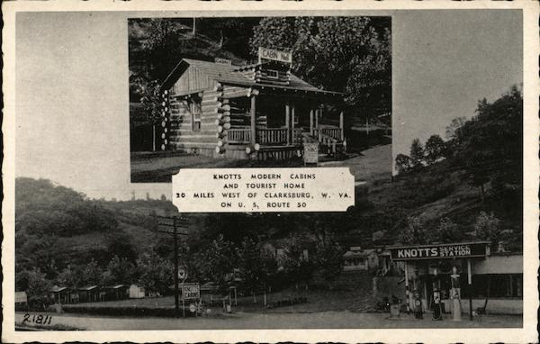 Knotts Modern Cabins and Tourist Home Clarksburg West Virginia