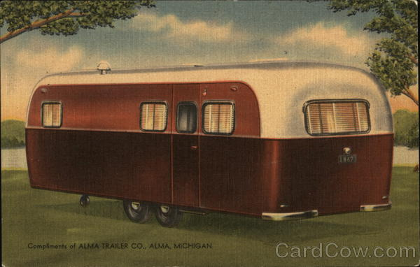 Compliments of ALMA TRAILER CO., Alma, Michigan