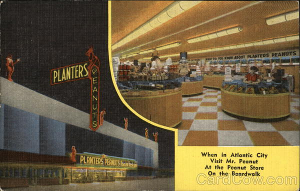 Planters Peanut Store Planters Atlantic City New Jersey
