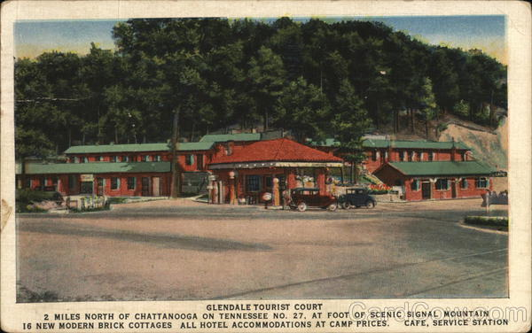 Glendale Tourist Court Chattanooga Tennessee