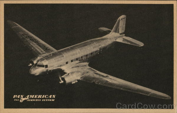 PAA Douglas Clipper Airline Advertising