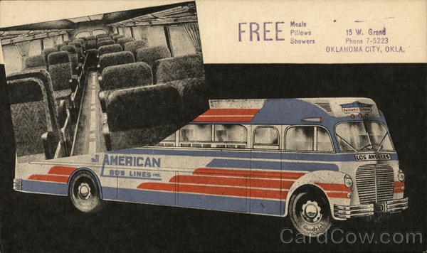 All American Bus Lines Buses Advertising