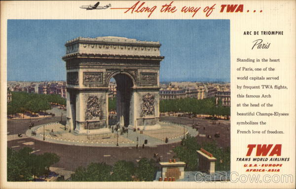 Arc de Triomphe Paris France Advertising