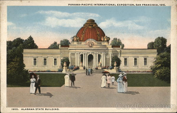 Alabama State Building 1915 Panama-Pacific Exposition