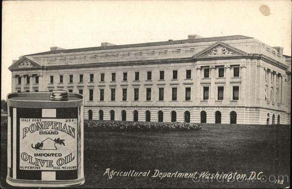 Agricultural Department Washington District of Columbia