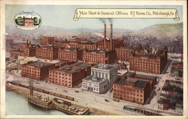 H. J. Heinz Co. - Main Plant & General Offices Pittsburgh Pennsylvania