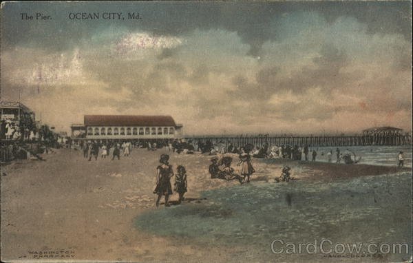 The Pier Ocean City Maryland Advertising