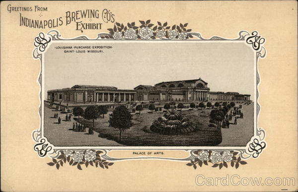 Indianapolis Brewing Company Exposition Advertising