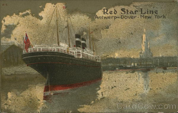 Red Star Line Advertising