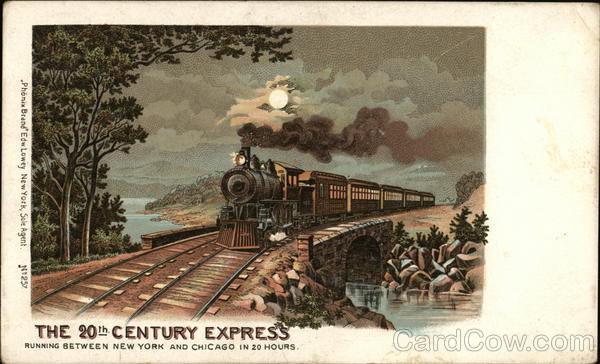 The 20th Century Express Advertising