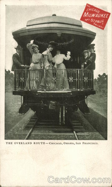 Chicago, Milwaukee and St. Paul Railway - The Overland Route
