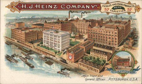 H. J. Heinz Company - Main Plant and General Offices Pittsburgh Pennsylvania