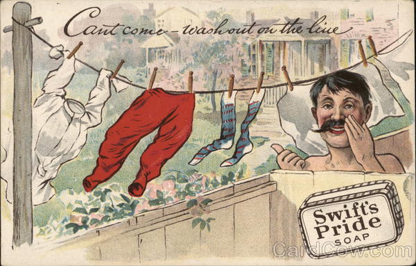 Swift's Pride Soap - Can't Come, Wash Out on the Line
