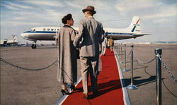 United Air Lines - Red Carpet Service