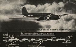 United Air Lines Boeing