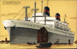 "American President Lines S.S. ""President Cleveland"""