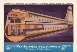 Pan American World Airways - Preview of Tomorrow's Flying Clippers