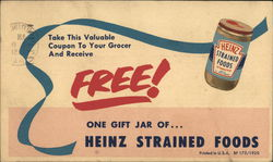 H. J. Heinz Company - Strained Food Coupon