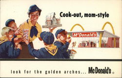 Cook-out, Mom Style: McDonald's Postcard
