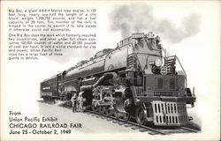 "Union Pacific - ""Big Boy"" 4-8-8-4 Mallet"