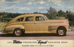1941 Pontiac Streamliner Torpedo Four-Door Sedan