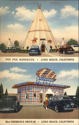 Teepee Barbecue and MacPherson's Drive-In