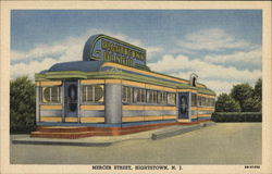 Hightstown Diner New Jersey Postcard