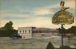 Richmond Belle Diner Postcard