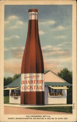 The Ocean Spray Cranberry Bottle
