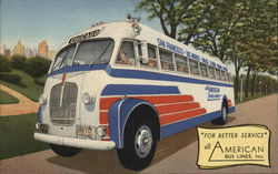 Rare All American Bus Lines
