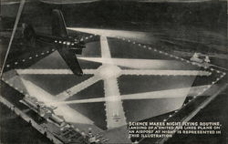 "United Aerial ""Ships that pass in the night"""